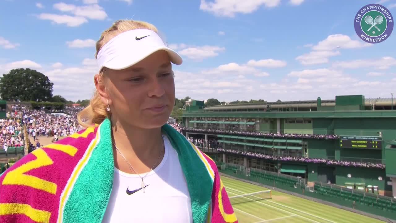 Olesya Pervushina clinches girls' singles quarter-final place