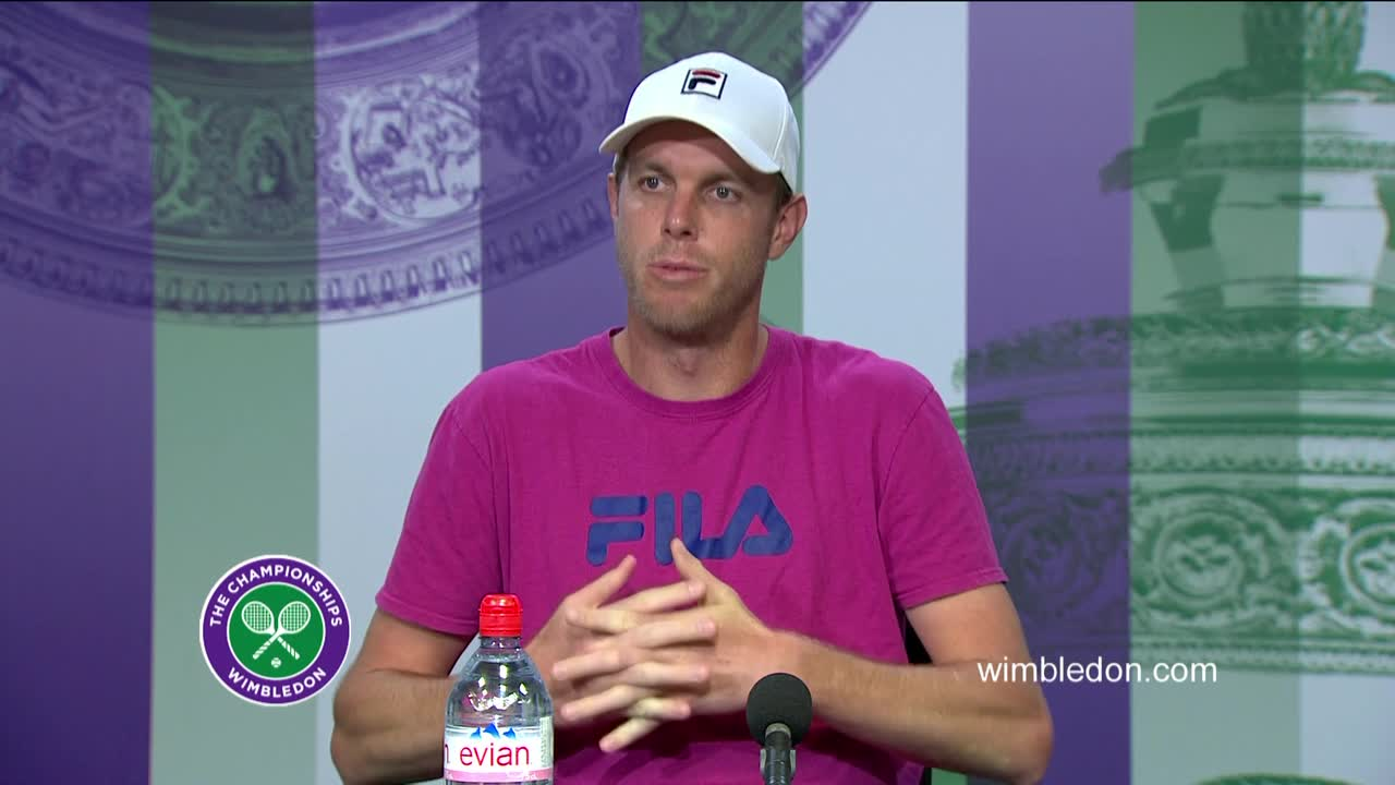Sam Querrey quarter-final press conference
