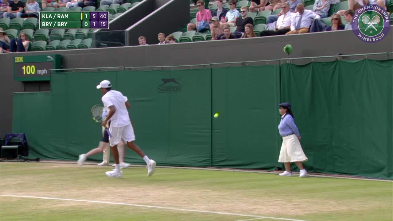 2016, Day 9 Highlights, Bob Bryan and Mike Bryan vs Raven Klaasen and Rajeev Ram