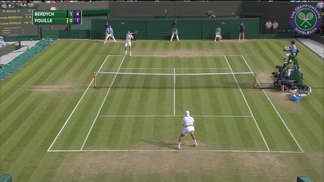 2016, Day 9 Highlights, Tomas Berdych vs Lucas Pouille