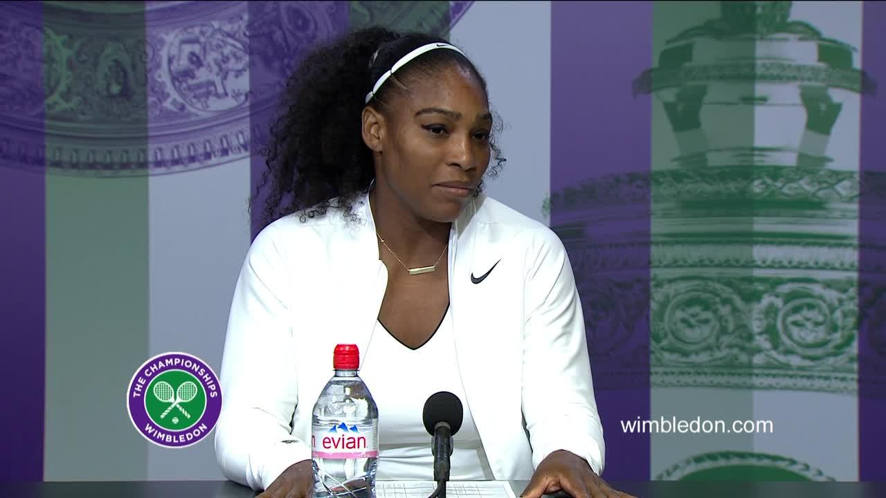 Serena Williams semi-final press conference