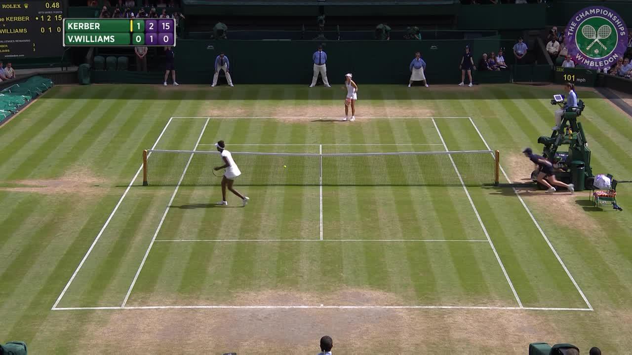 2016, Day 10 Highlights, Angelique Kerber vs Venus Williams