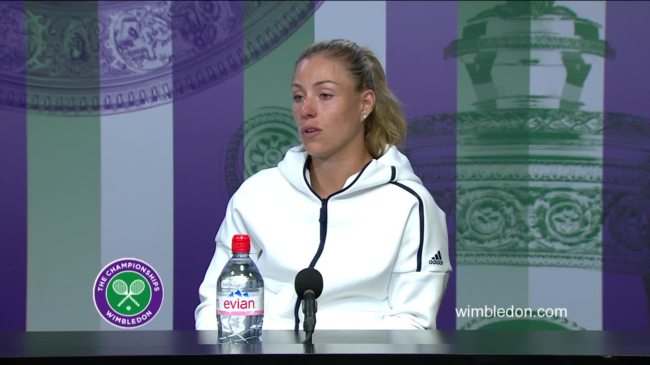 Angelique Kerber semi-final press conference