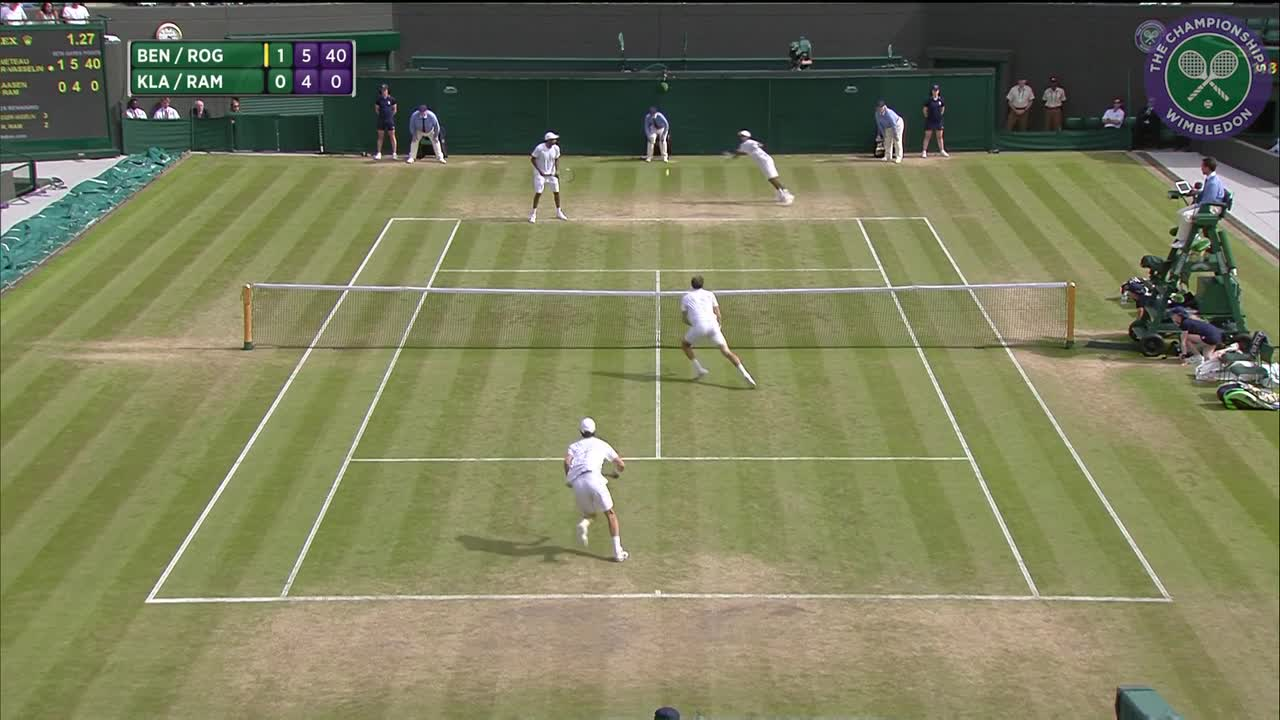 2016, Day 10 Highlights, Julien Benneteau and Edouard Roger-Vasselin vs Raven Klaasen and Rajeev Ram