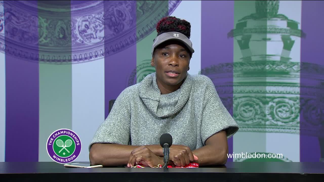 Venus Williams semi-final press conference