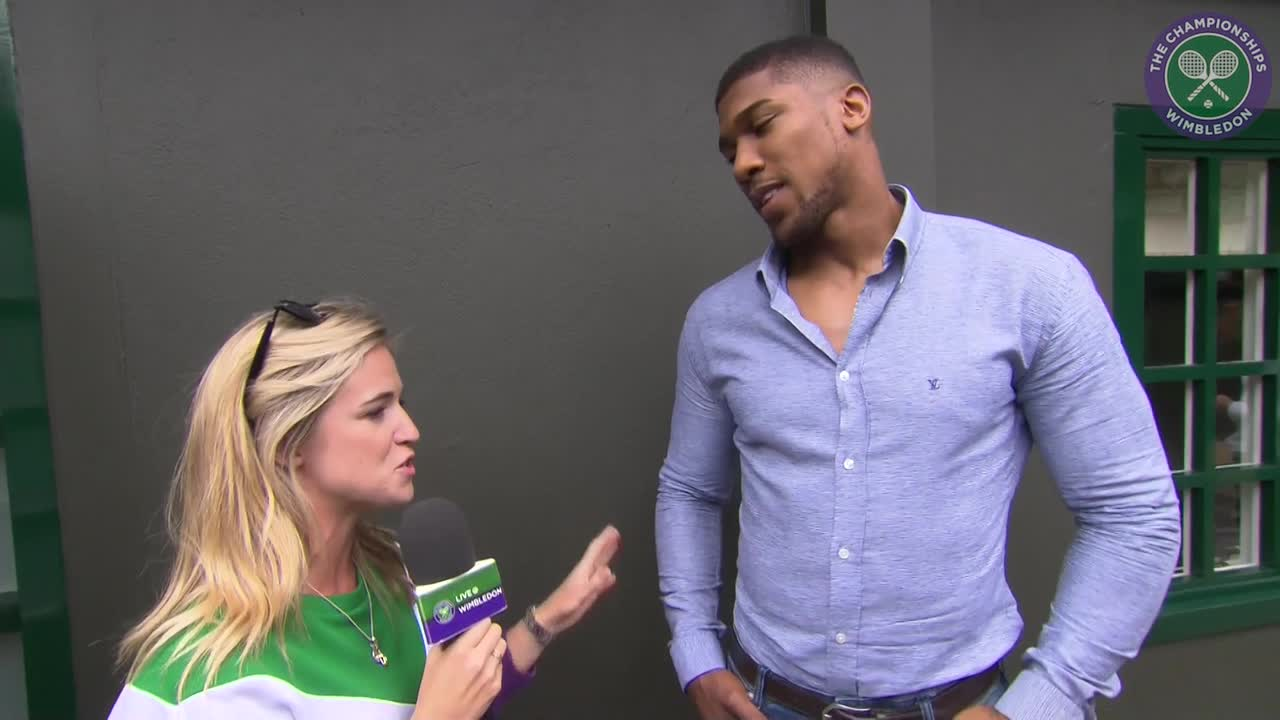 Champion boxer Anthony Joshua relishing men's semi-finals day