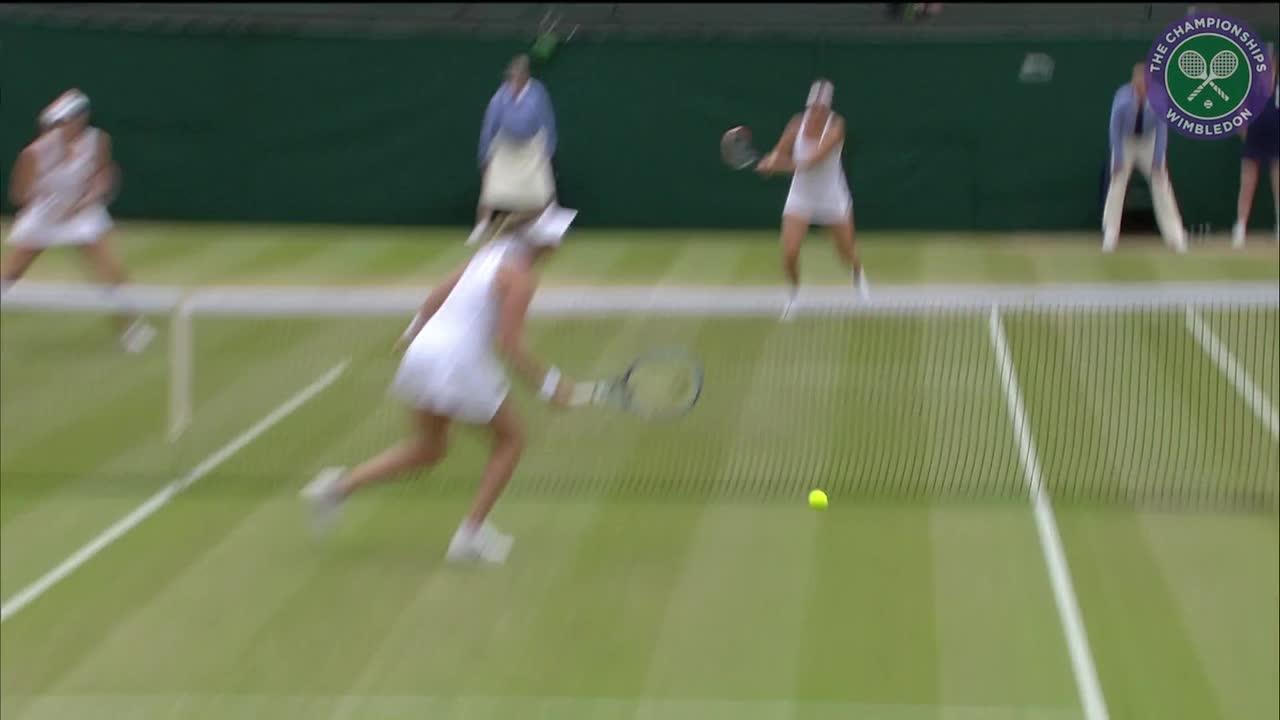 2016, Day 11 Highlights, Timea Babos and Yaroslava Shvedova vs Raquel Atawo and Abigail Spears
