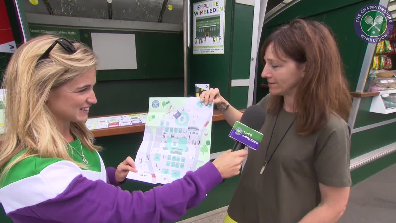 Meet the illustrator who designed this year's Wimbledon map