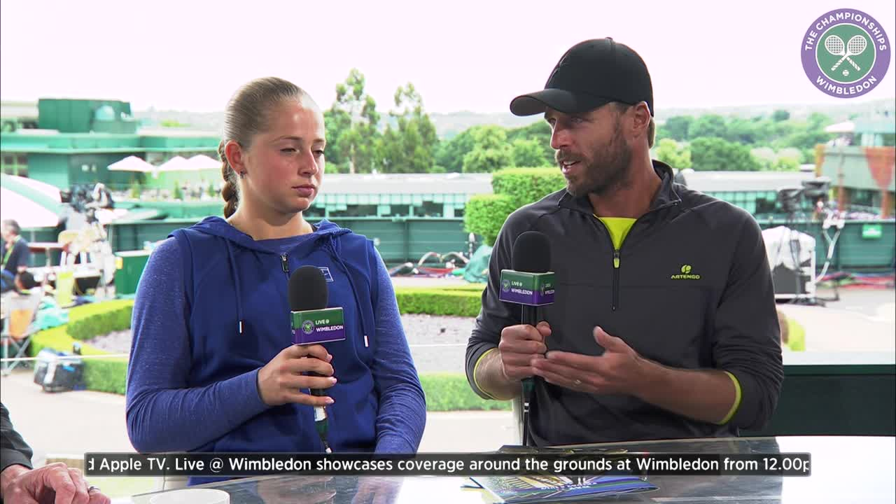 Oliver Marach and Jelena Ostapenko book place in mixed doubles semi-final