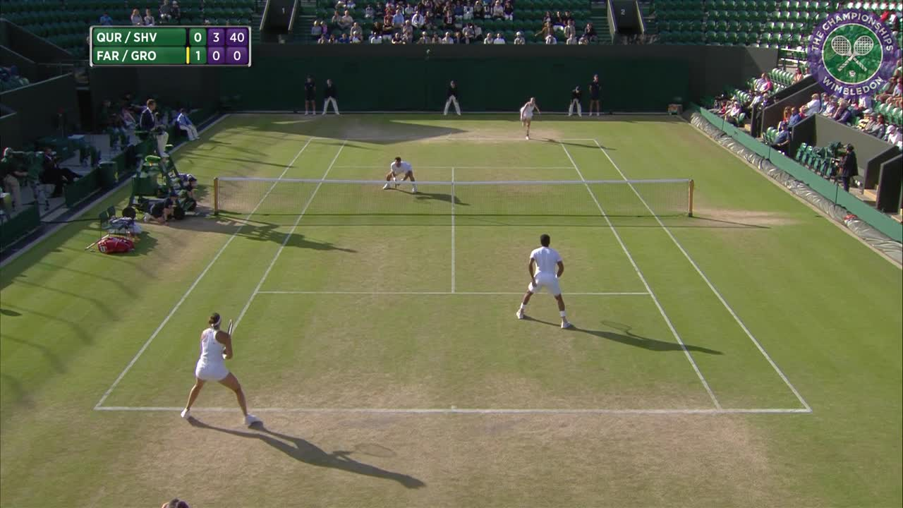 2016, Day 11 Highlights, Aisam-Ul-Haq Qureshi and Yaroslava Shvedova vs Robert Farah and Anna-Lena Groenefeld