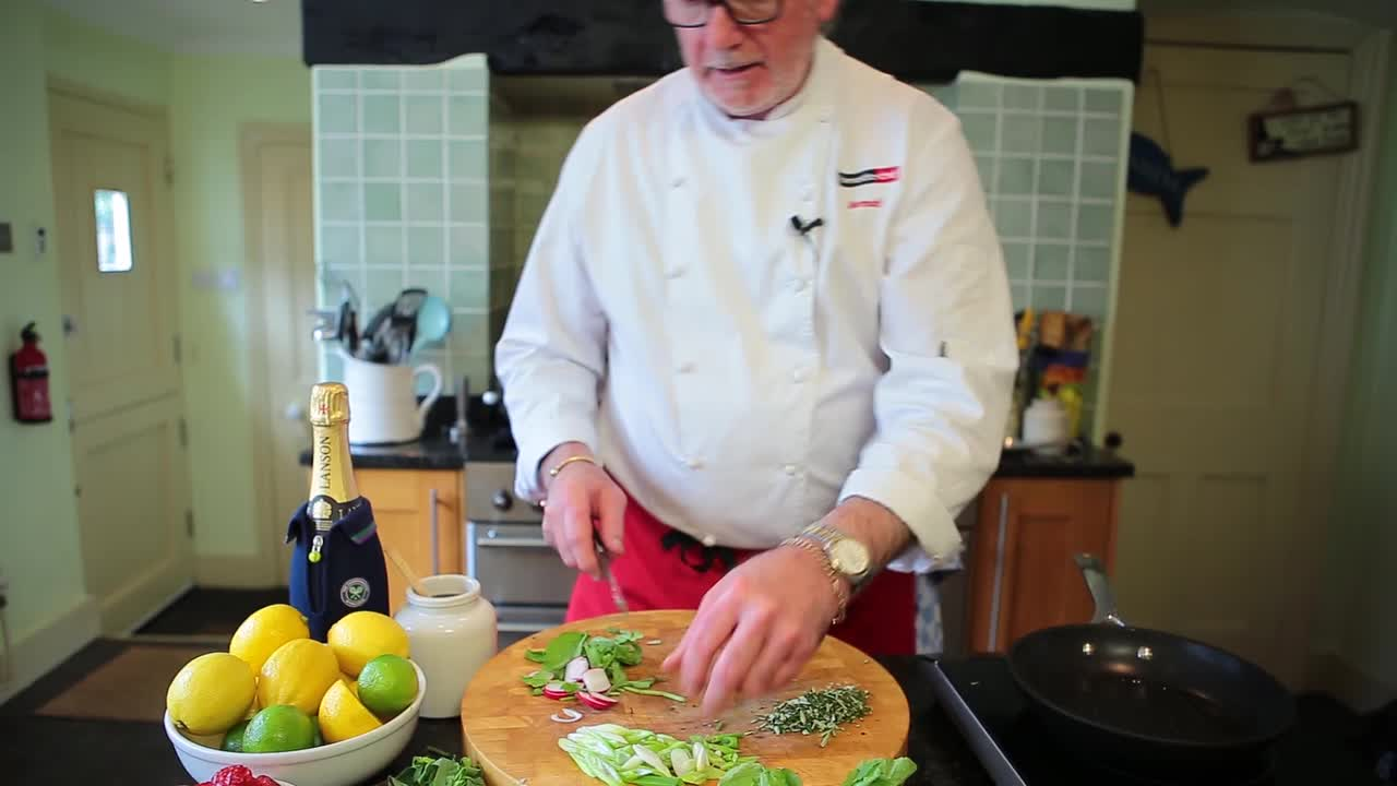 Wimbledon inspired recipe with IBM Chef Norman Wilkinson - Strawberry Linguine