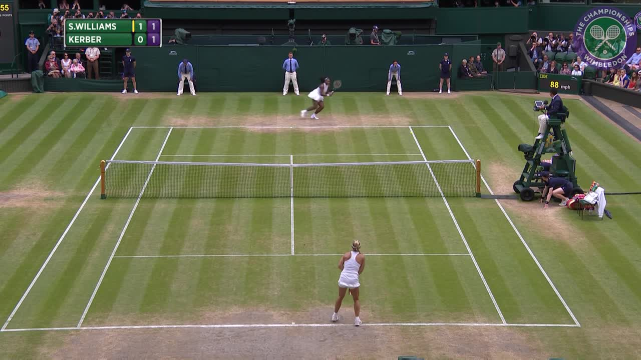 2016, Day 12 Highlights, Serena Williams vs Angelique Kerber