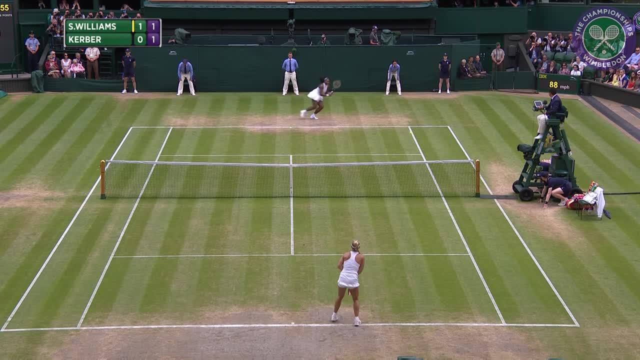 2016, Day 12 Highlights, Serena Williams vs Angelique Kerber