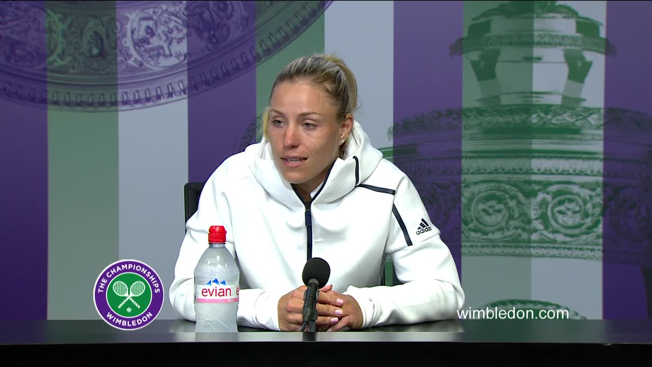 Angelique Kerber final press conference