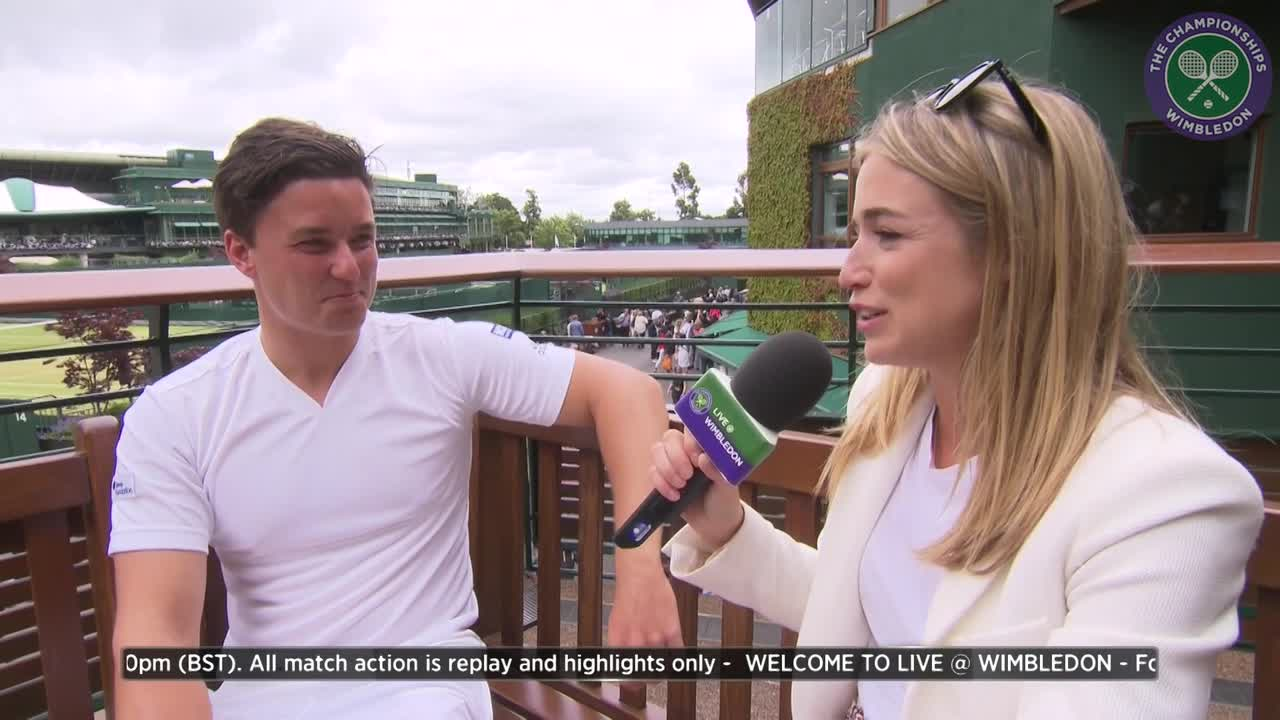 Reid hoping to raise Wheelchair tennis profile after historic Wimbledon singles win