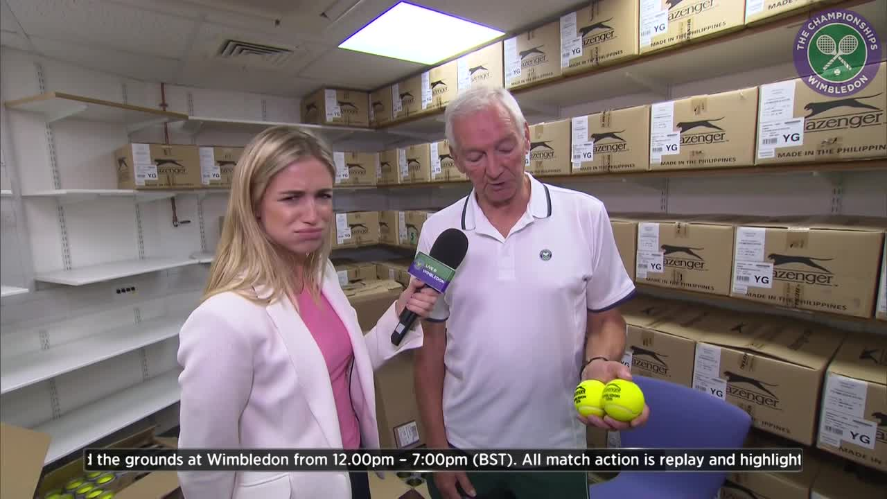 Ever wondered how many tennis balls are used at Wimbledon?