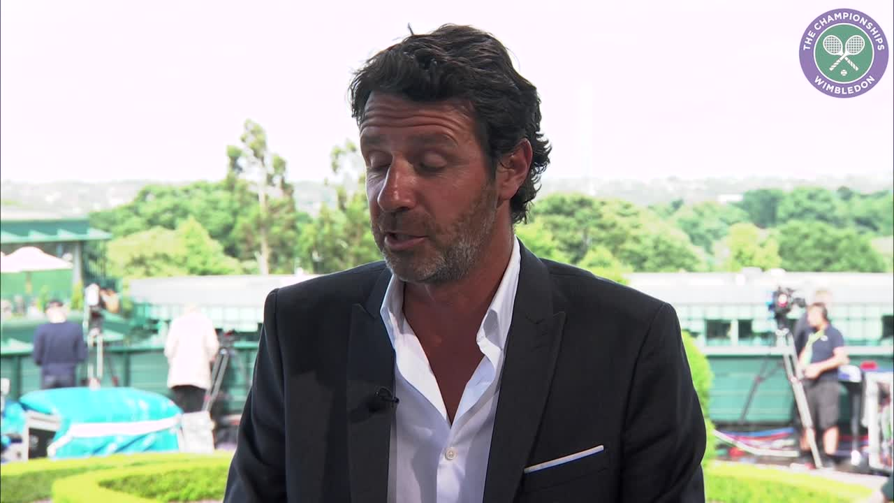 Serena Williams coach Patrick Mouratoglou pays tribute to Wimbledon champion