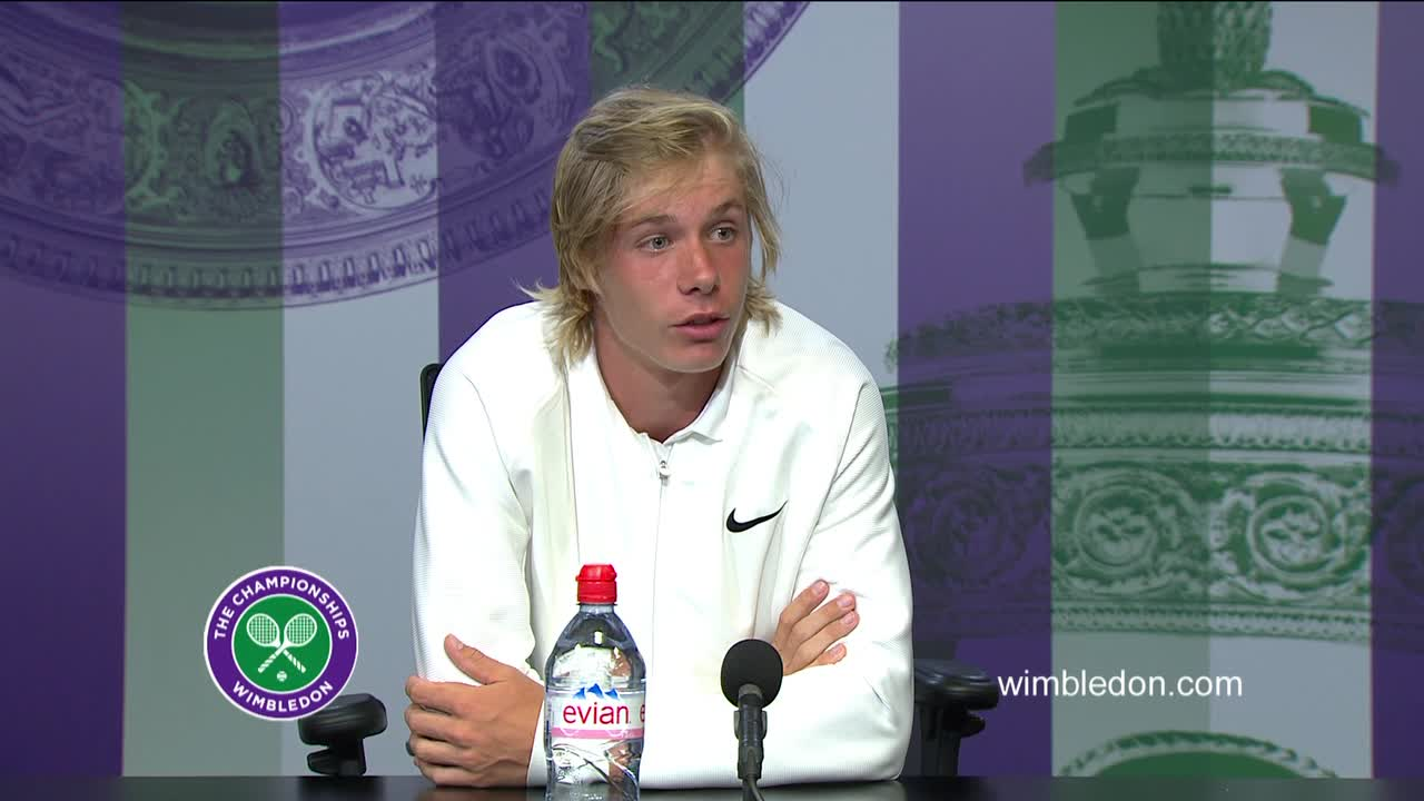 Denis Shapovalov final press conference