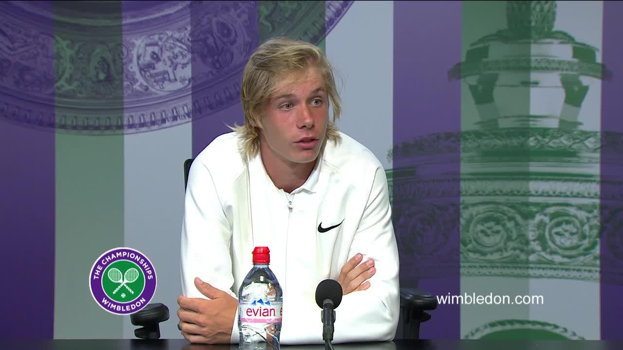 Denis Shapovalov final press conference