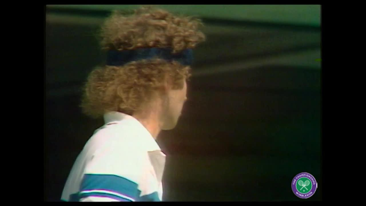 A Point in Time: John McEnroe and the puff of chalk