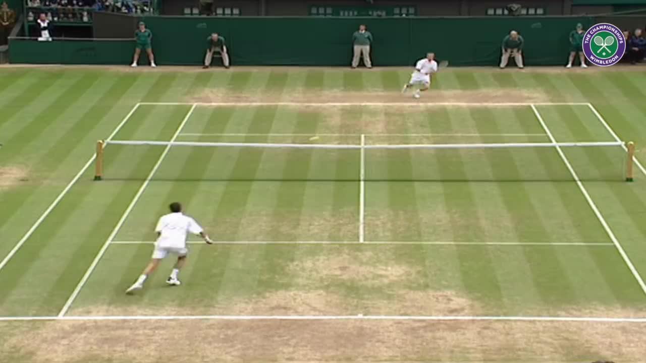 Wimbledon's Christmas Countdown: Day 2, Hewitt v Henman
