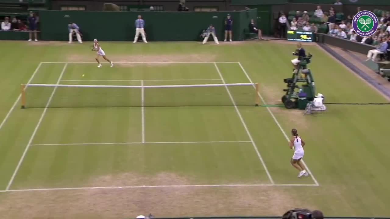 Wimbledon's Christmas Countdown: Day 5, Azarenka v Paszek