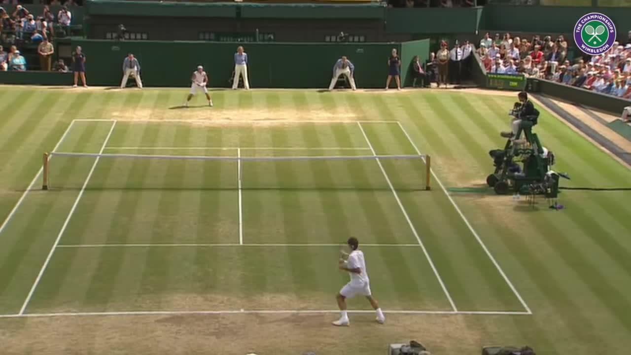 Wimbledon's Christmas Countdown: Day 8, Federer v Nadal