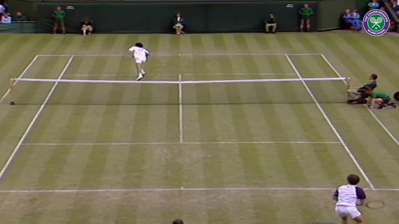 Wimbledon's Christmas Countdown: Day 9, McEnroe v Cahill