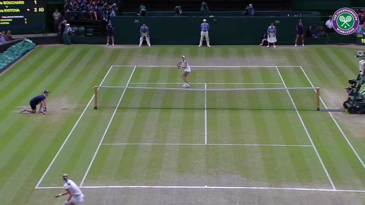 Wimbledon's Christmas Countdown: Day 12, Kvitova v Bouchard