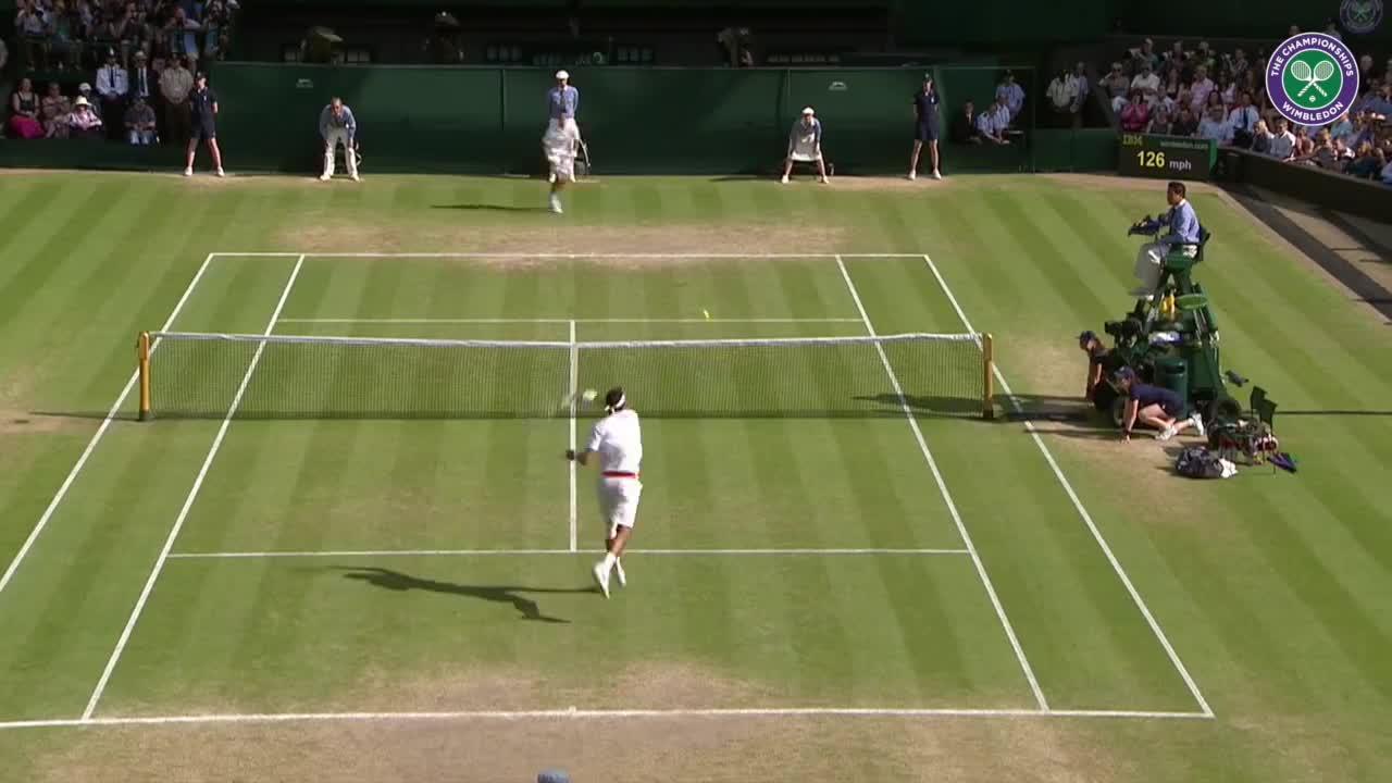 Wimbledon's Christmas Countdown: Day 18, Del Potro v Ferrer