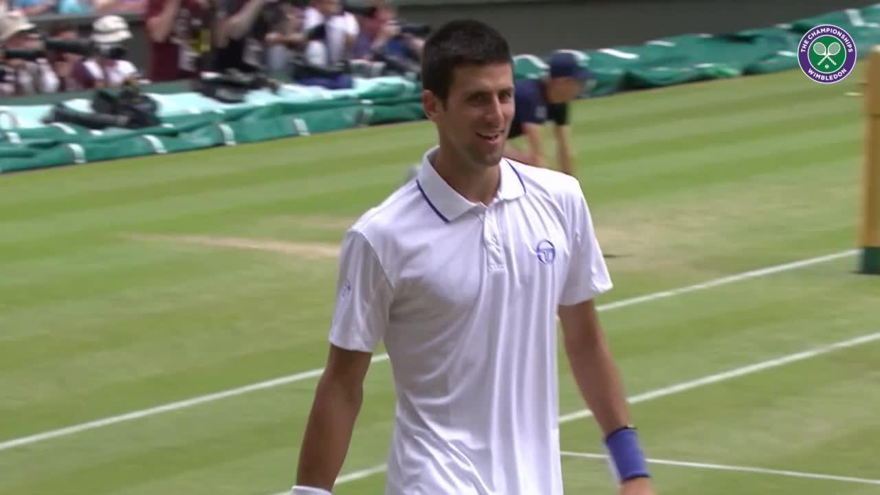 Wimbledon's Christmas Countdown: Day 20, Djokovic v Tsonga