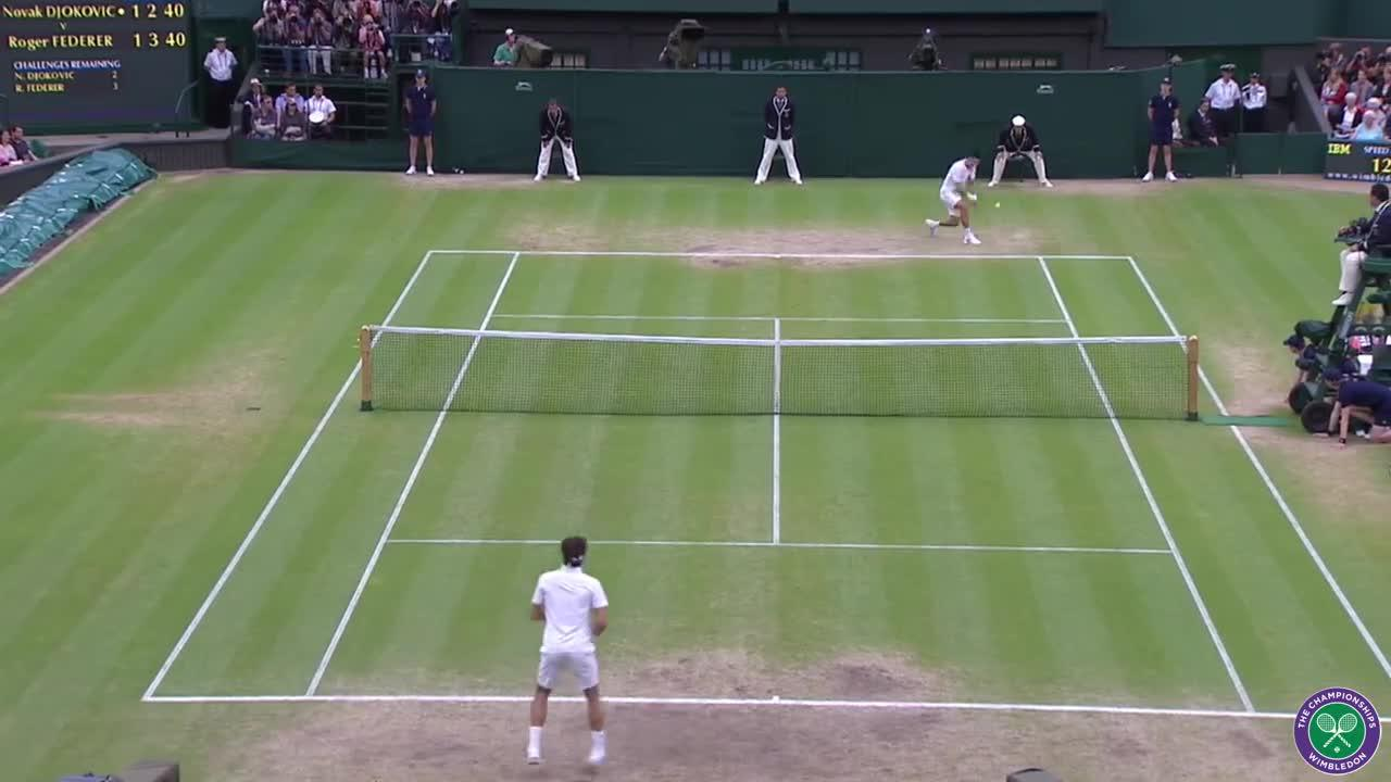Wimbledon's Christmas Countdown: Day 22, Djokovic v Federer