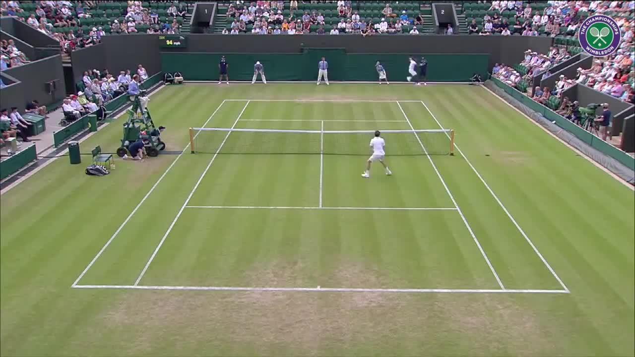 Wimbledon's Christmas Countdown: Day 25, Monfils v Mannarino