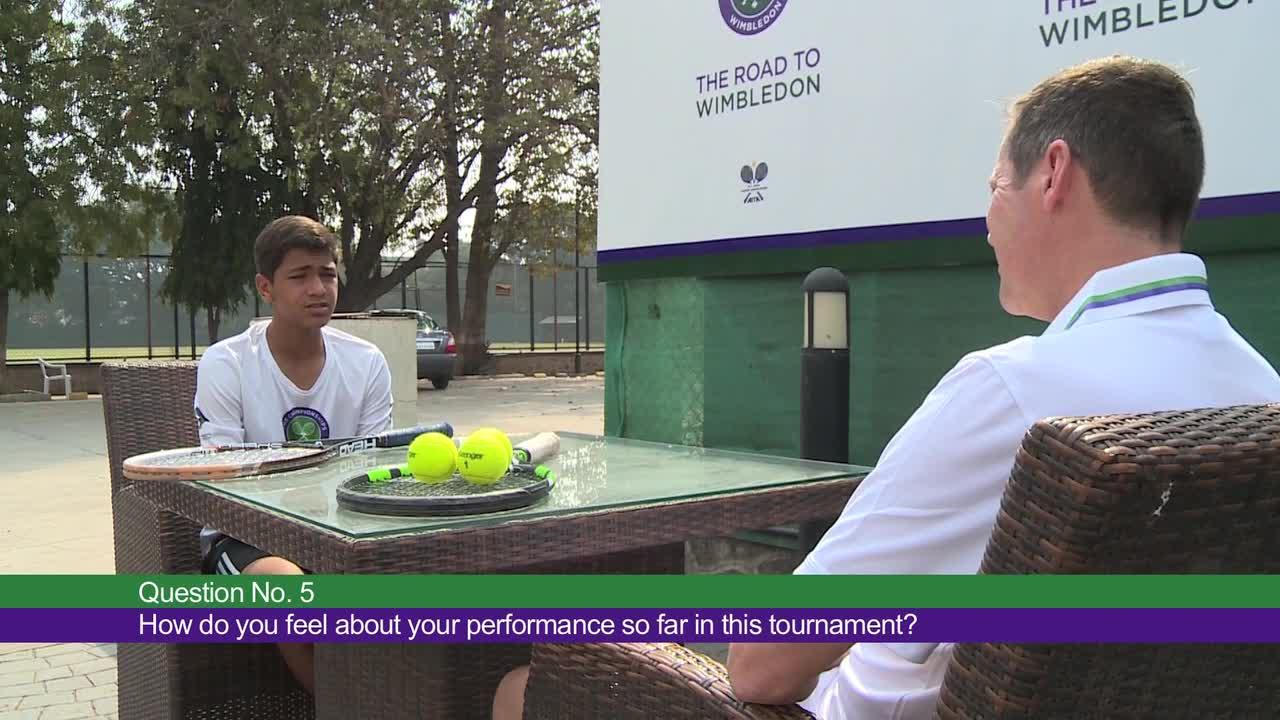 Road to Wimbledon India: Sushant's Pursuit