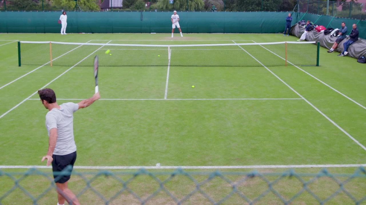 Federer fine tunes preparations