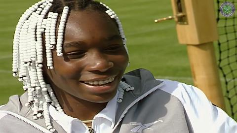 Remembering Venus' first Wimbledon