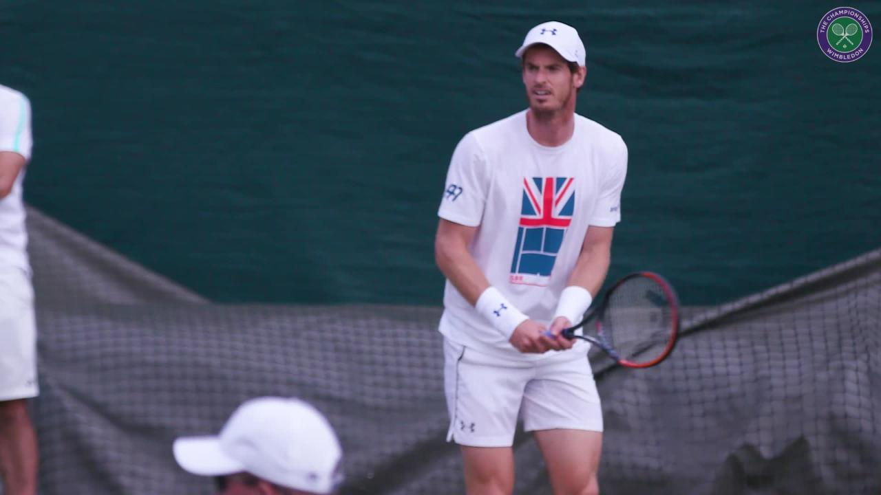 Murray gears up for first round
