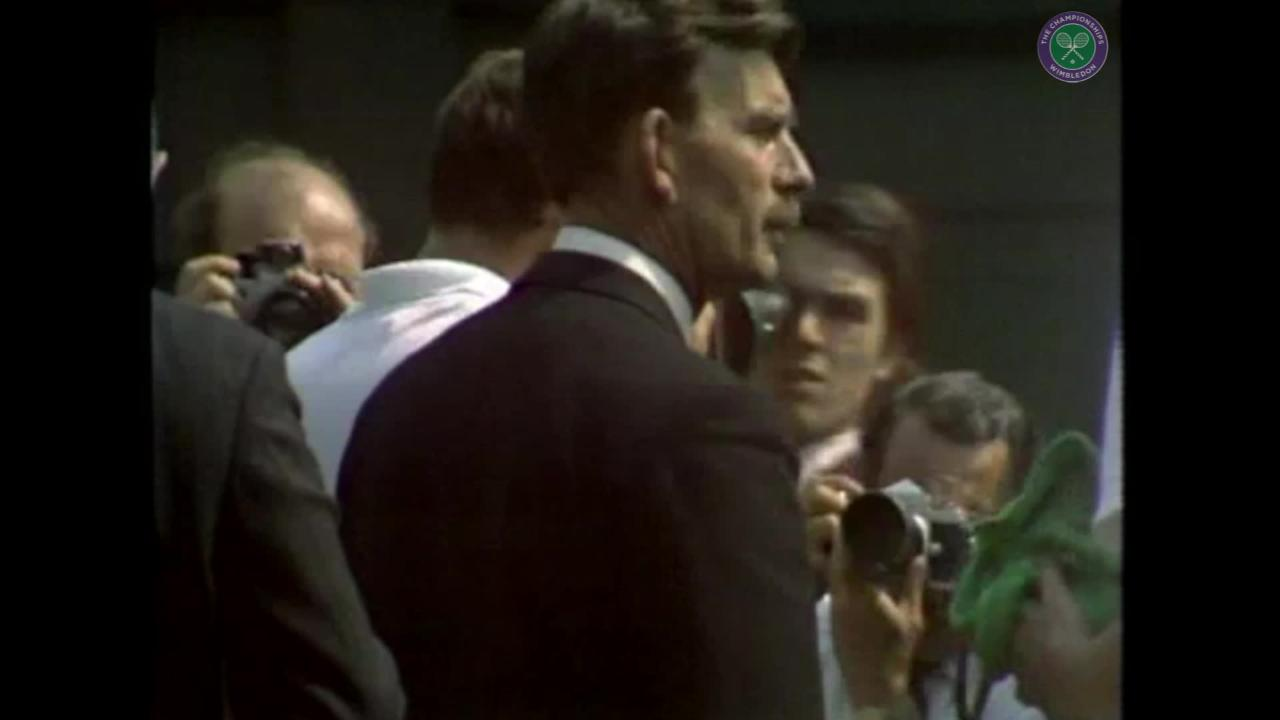 TV history: The first Wimbledon final in colour