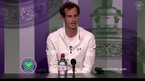 Murray looks ahead to entertaining match