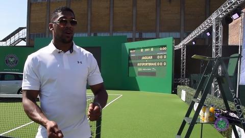 My Wimbledon Memory - Anthony Joshua