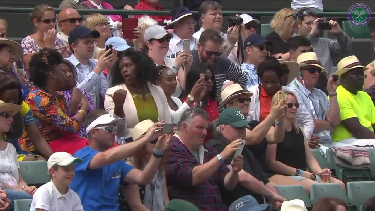 Venus begins 20th Wimbledon