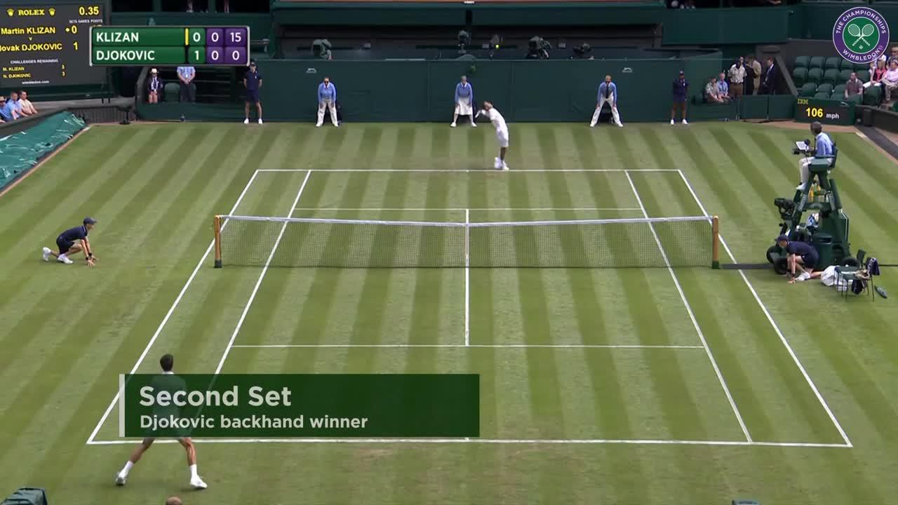 2017, First Round Highlights, Martin Klizan vs Novak Djokovic