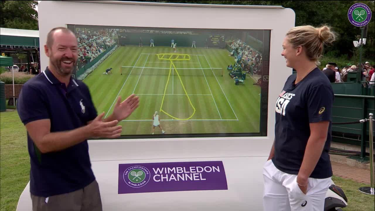 The Wimbledon Channel: Coco Vandeweghe interview