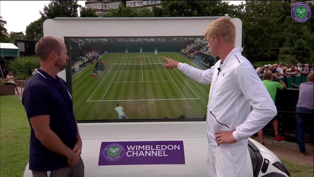 The Wimbledon Channel: Kyle Edmund interview