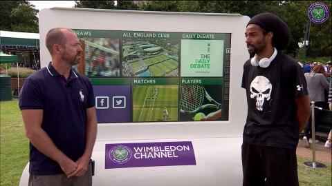 The Wimbledon Channel: Dustin Brown interview