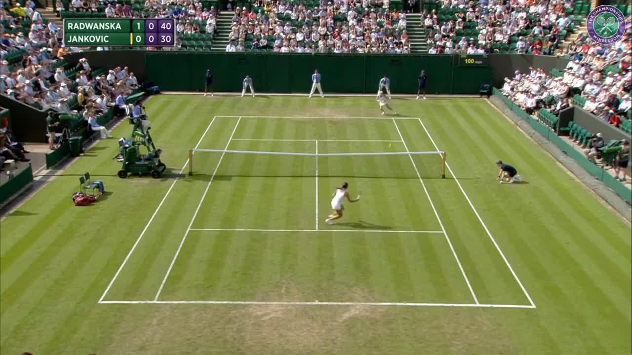 2017, First Round Highlights, Agnieszka Radwanska vs Jelena Jankovic