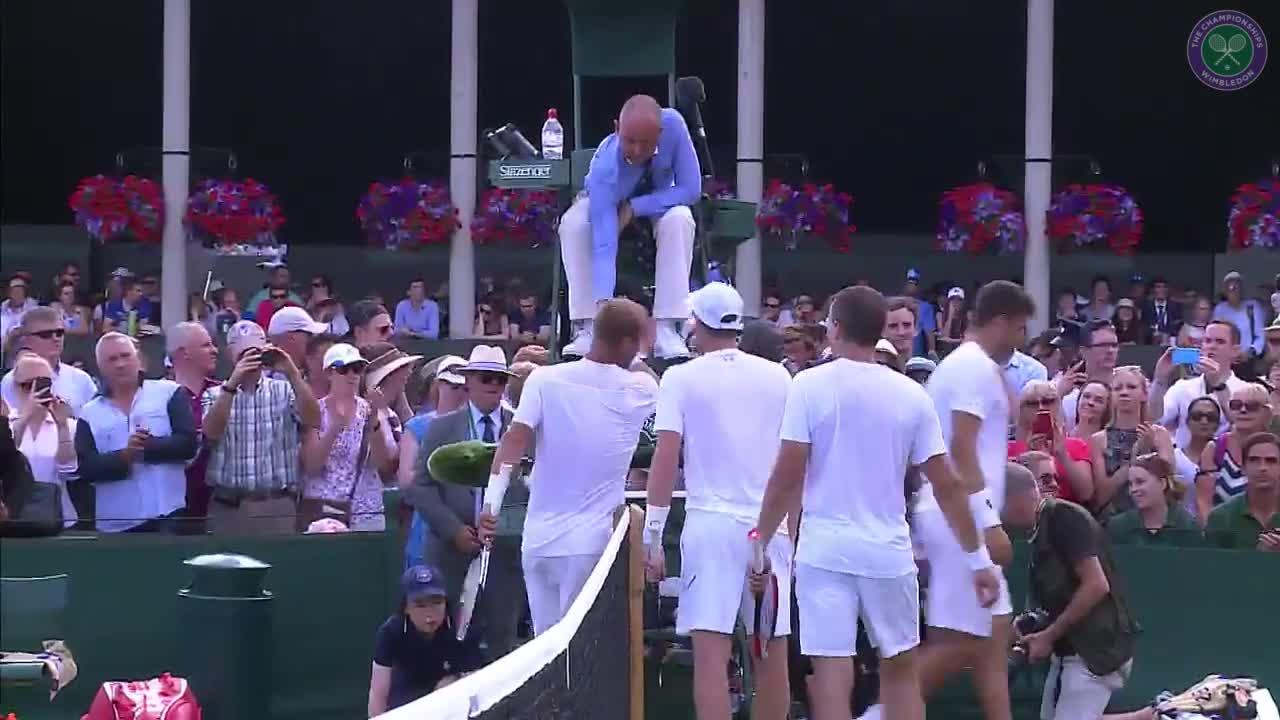 Murray and Soares off and running