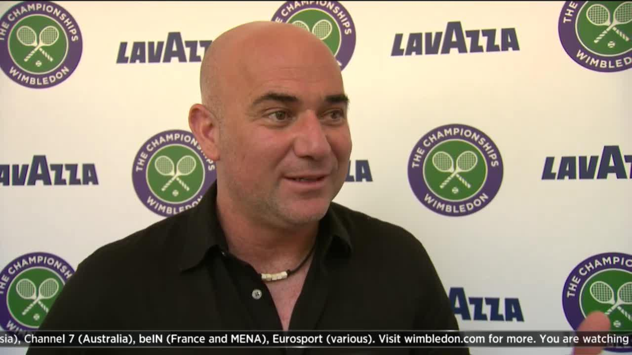 The Wimbledon Channel: Andre Agassi Interview