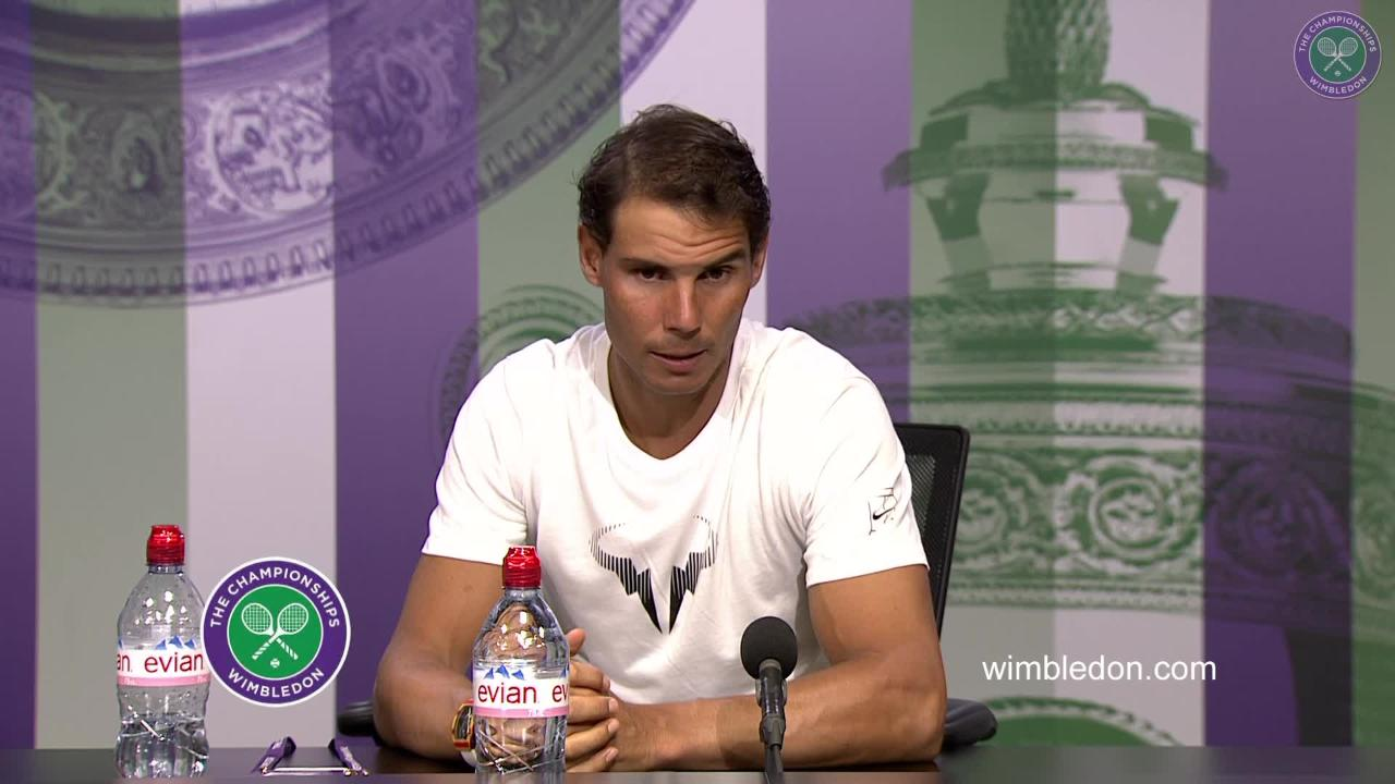 Rafael Nadal Third Round Press Conference 2017