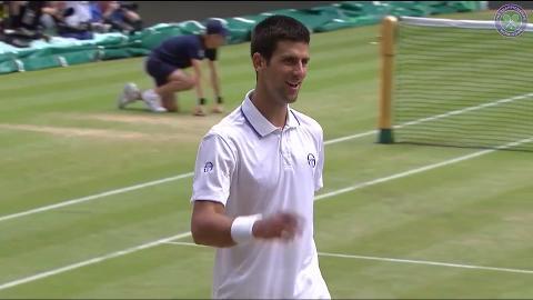 My Wimbledon Memory: Novak Djokovic
